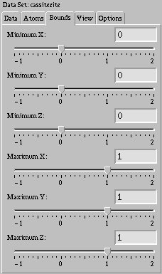 Bounds tab